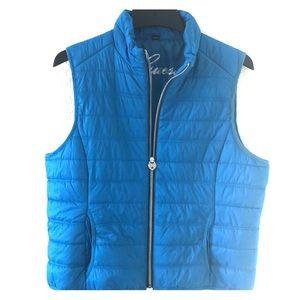 Women's guess puffer coat vest